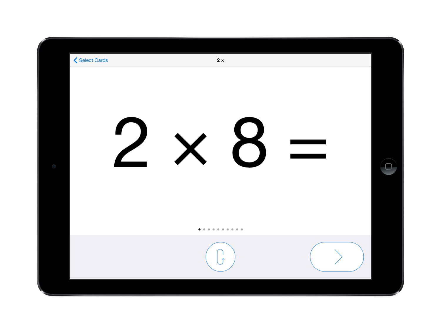 Pure Flashcards - Math - Multiplication