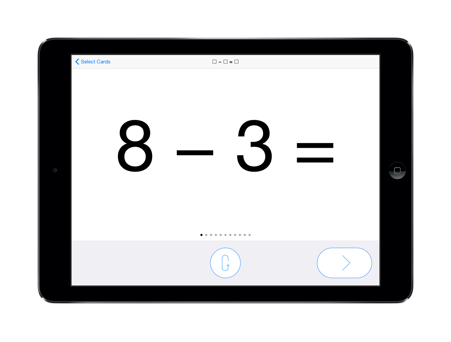 Pure Flashcards - Math - Subtraction